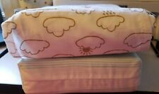 2 Sets Nib toddler Bed Sheet Sets each has 1 fitted, 1 flat sheets and p. Case