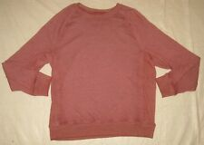 Mossimo Supply Co Sweater Pullover Mens Red Maroon Size L