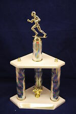 "CUSTOM 19"" 3-POST TROPHY-BASKETBALL, WRESTLING, SWIMMING, SOCCER, BASEBALL, MORE"