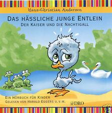 CD + Hörbuch für Kinder + Das hässliche Entlein + Der Kaiser und die Nachtigall