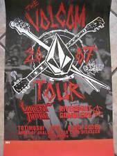 "New Volcom Poster ""The Volcom Tour"" Rock Poster L@K!"