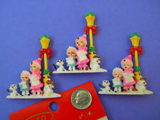 VINTAGE,COLLECTIBLE,CHILDREN SINGING, Made in Hong Kong