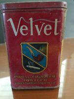 "Vintage ""Velvet"" Pipe & Tobacco Tin - Liggett & Myers Tobacco Co."