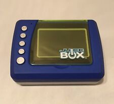 JUICE BOX Multimedia Player 2004 by Mattel Color Blue
