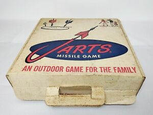 Vintage 1960's JARTS Missile Game - BOX ONLY - Great Condition - E-7921a