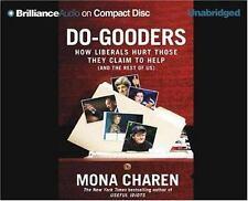 """DO-GOODERS"" BY MONA CHAREN SEALED AUDIOBOOK 7 DISCS 2004"