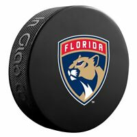 This Florida Panthers Basic Official NHL Slovakia Hockey Souvenir Game Puck