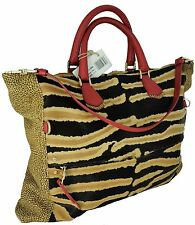 SHOULDER BAG WOMAN ZEBRA BORBONESE LEATHER SNAKE WOMAN BAG MULTICOLOUR 95461