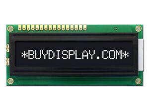5V Negative Black 16x1 Character LCD Module Display w/Tutorial,HD44780,Backlight