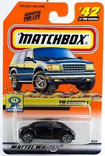 Matchbox #42 Vw Concept Car 1 With Mb 2000 Logo New On Card