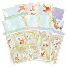 Hunkydory Woodland Friends Deluxe Card Collection DCC154 NEW