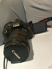 Canon EOS 600D Camera - Black body+50-1.8 long-focus lens 95%new