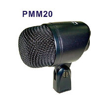 Bass Kick Drum Microphone Dynamic Bold Handle High SPL Hypercardioid Cardioid XL