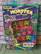 Monster In My Pocket Space Aliens Figure 12 Pack Matchbox 1993 MIMP
