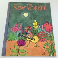 The New Yorker: July 29 1972 - Full Magazine/Theme Cover William Steig