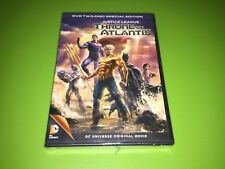New listing Justice League Throne of Atlantis 2 Disc Set Brand New Factory Sealed