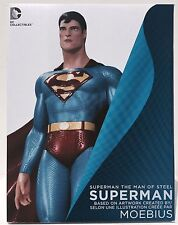 DC COMICS SUPERMAN MAN OF STEEL STATUE BY MOEBIUS DC COLLECTIBLES ACTION FIGURE