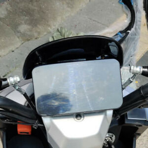 Motorcycle Scooter Front Windshield Windscreen w/ Bracket Kit modify Universal