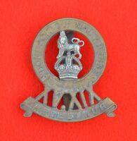 British Army. 15/19th Hussars Genuine OR's KC Cap Badge