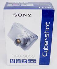 NEW SEALED! Sony Cybershot DSC-S650 7.2MP Digital Camera with 3x Optical Zoom