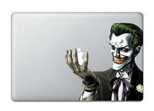 "1X Joker Batman Apple Macbook Pro/Retina 15"" Removable Vinyl Sticker Decal"