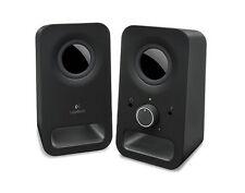 Logitech Z150 Stereo Speakers - Midnight Black