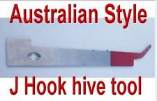 Bee Keeping J Style Aussie Hive Tool Heavy Duty Stainless Steel Hive Equipment