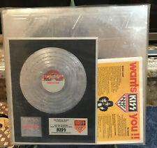 KISS Double Platinum 2Lp~1978 1st Press NBLP 7100-2~ALL INSERTS AWARD ORDER FORM