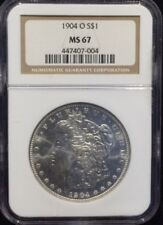 1904 O  $1 Morgan Silver Dollar NGC MS 67 Top Pop