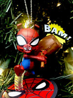 2020 Spider-Man Pig Snout Hammer Christmas Ornament Spidy Spiderman Multiverse