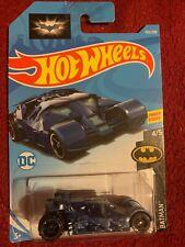 Hot Wheels - Movie Cars - DC Comics - Blue Batmobile - Long Card - 4/5