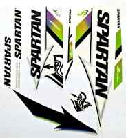 Spartan MSD Hurricane Brand new cricket bat stickers Ebay Premium Quality