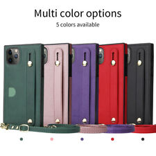 For iPhone 12 11 Pro XS Max XR 8 7 Plus Shockproof PU Leather Wallet Case Cover