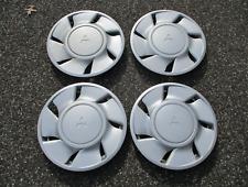 Genuine 1990 1991 Mitsubishi Eclipse 16 inch hubcaps wheel covers