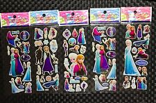 Frozen Elsa sticker sheets buy 5 get 5 free stickers party supplies lolly bags