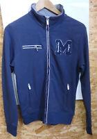 Equi Theme Sweatjacke Herren Equit`M aus 90% Baumwolle, Gr.S, blau, UVP 82,50€