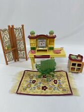 Fisher Price Loving Family Dollhouse Work-at-Home Office Set Complete