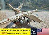 US General Atomics MQ-9 Reaper UAV Fighter jet plane moc blocks USA Predator