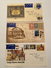 Australia, 3 Australia Post Covers Airmail To Us, Sydnex 80, Boy Scouts, More!