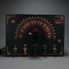"Antique 1940s Coastwise Electronics Audio Oscillator ""The Ferret"" Model 610"