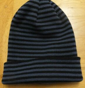 White Rock Beanie Hat with Turn Up  for Men and Unisex Youth - Reversible