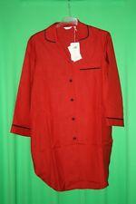 Premium Nachtwäsche von Börner Nachthemd Seide in klassischer Hemdform Gr.XS