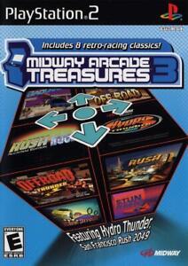 Midway Arcade Treasures 3 - PS2 Playstation 2 Game