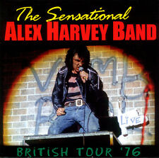 Sensational Alex Harvey Band  -  British Tour '76    (Live CD Album)