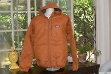 Patagonia Nwt - men's Diamond Quilted Bomber Hoody Earthworm Brown- Large-