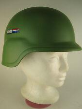 Vtg 1991 Hasbro GI JOE Army Helmet RARE w/suspension HTF Plastic Life Size Toy