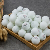 100Pcs 3-Stars 40mm Olympic Table Tennis Balls Ping pong Balls White Orange