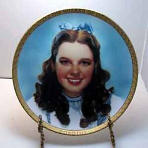 Dorothy Collector Plate from Portraits of Oz Series