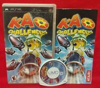 Kao Challengers - Sony PSP Complete Game Playstation Portable Tested / Working