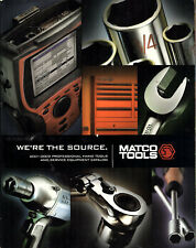 Professional Hand Tools & Service Equipt 2001-2002 Catalog Matco Tools Stow Oh